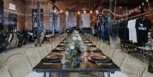 Industrial Wedding & Function Room Hire at Smoked Garage