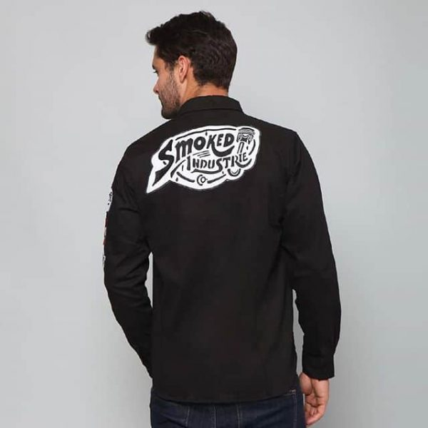 Smoked Garage Smoked Industrie Logo Shirt