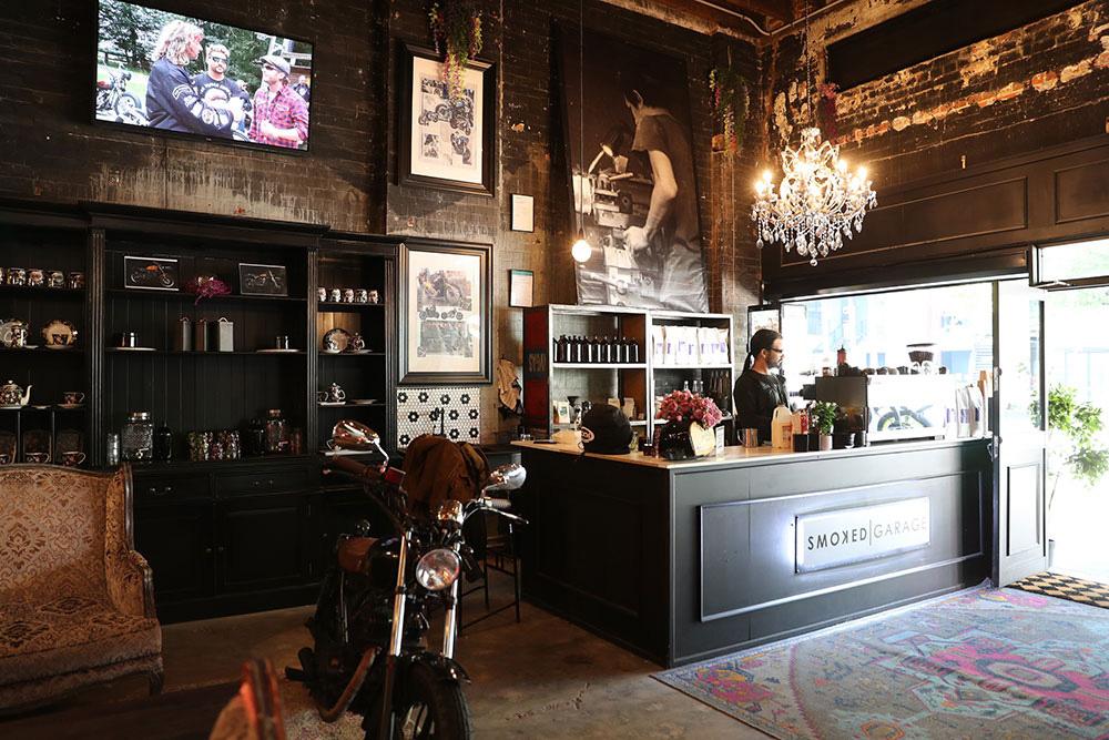 Smoked Garage Cafe, Motorcycles & Apparel Brisbane