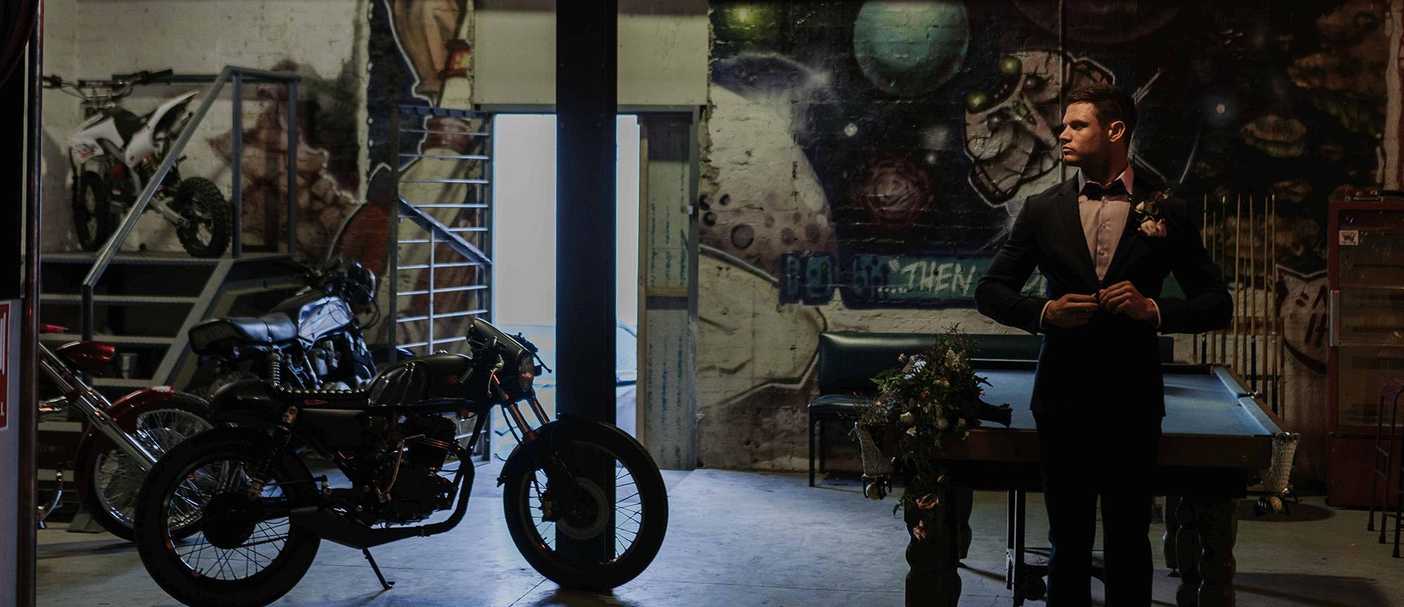 Smoked Garage Wedding Venue & Cafe