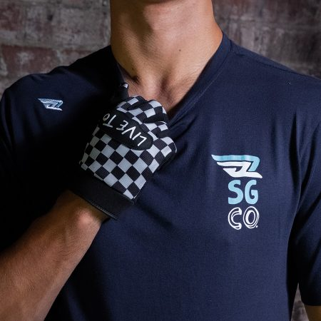Smoked Industries SGCQ Tee Navy Front
