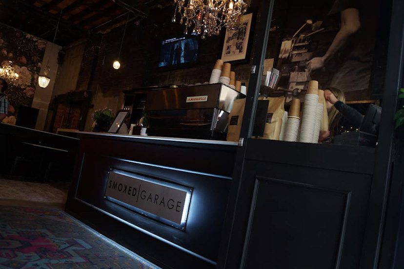 Barista Style Coffee Smoked Garage