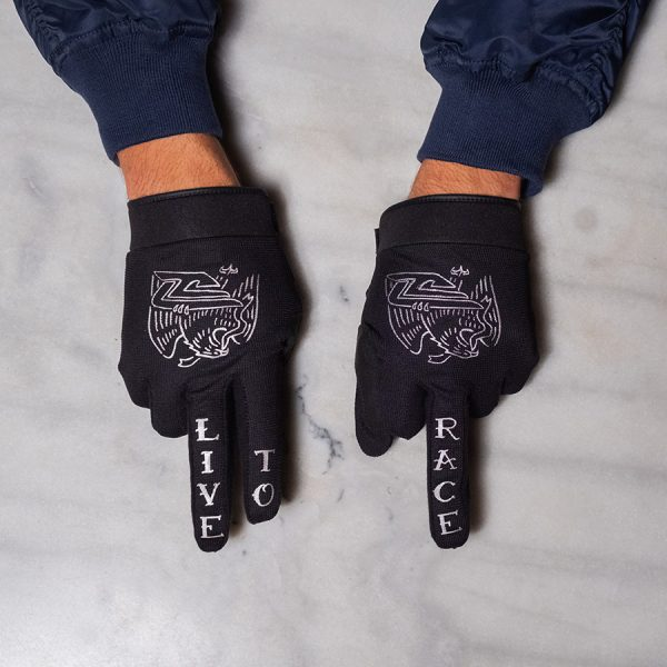 Eagles Live To Race Riding Gloves