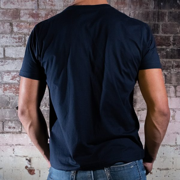 Electric Smoked Garage Tee Black Back