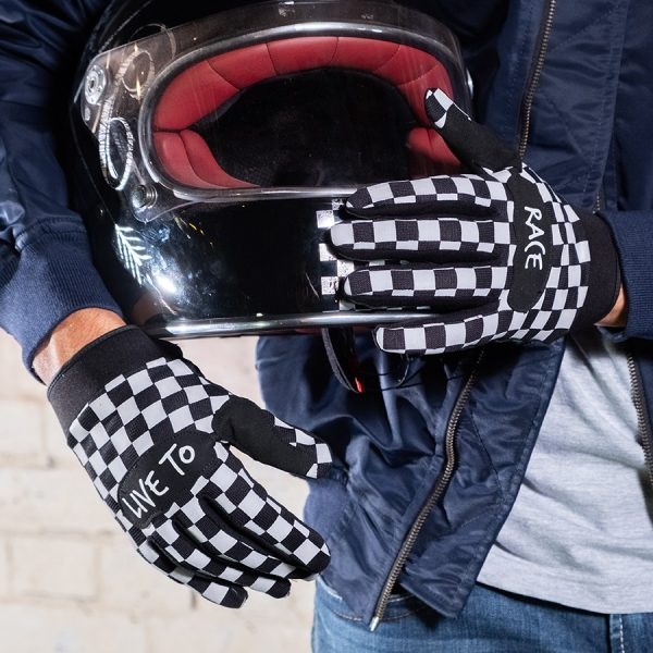 Finish Line Riding Gloves