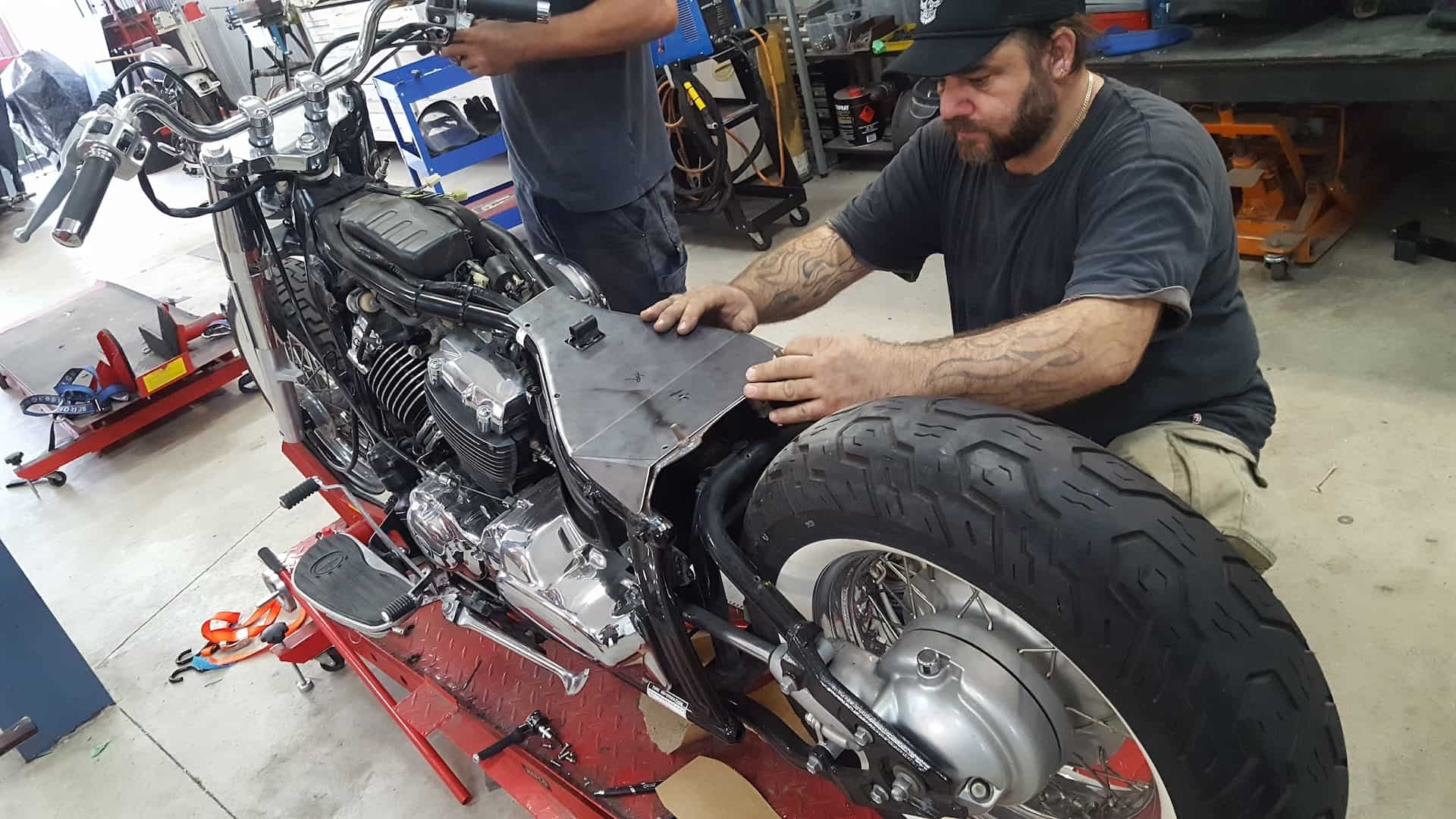 Full Custom Bike Service From Chassis To Custom Headlights