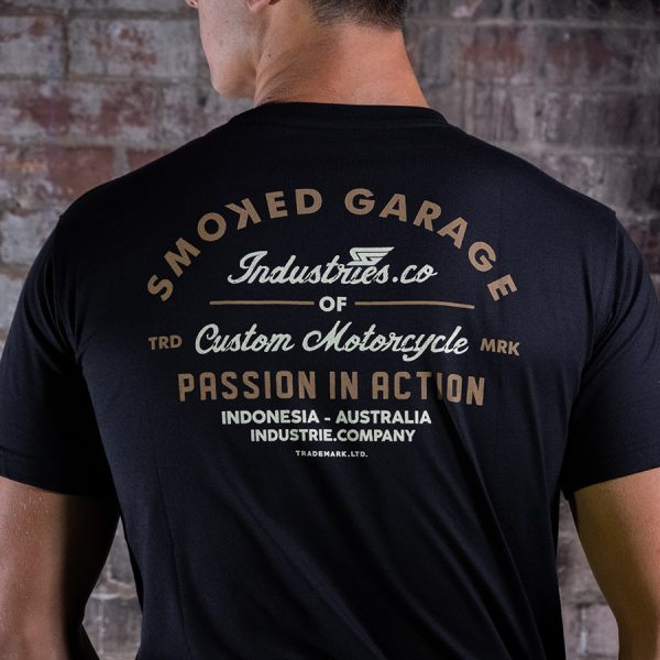 Smoked Garage Passion In Action Tee