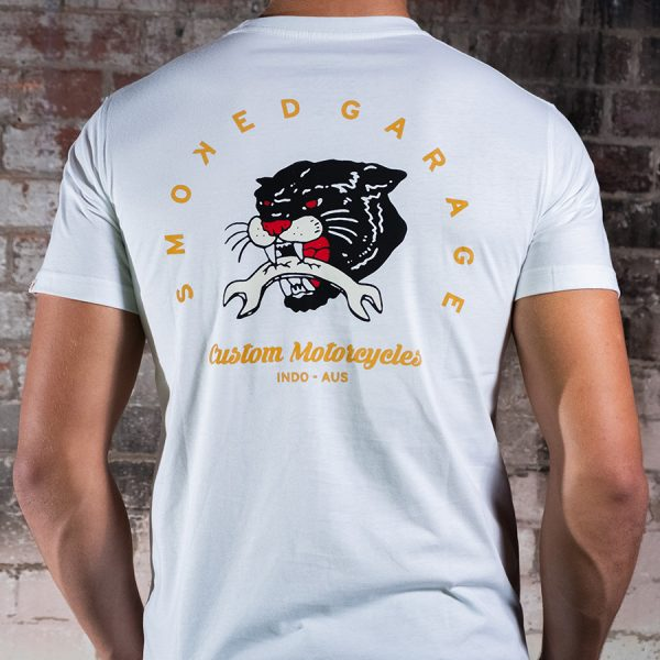 Smoked Cougar Tee White