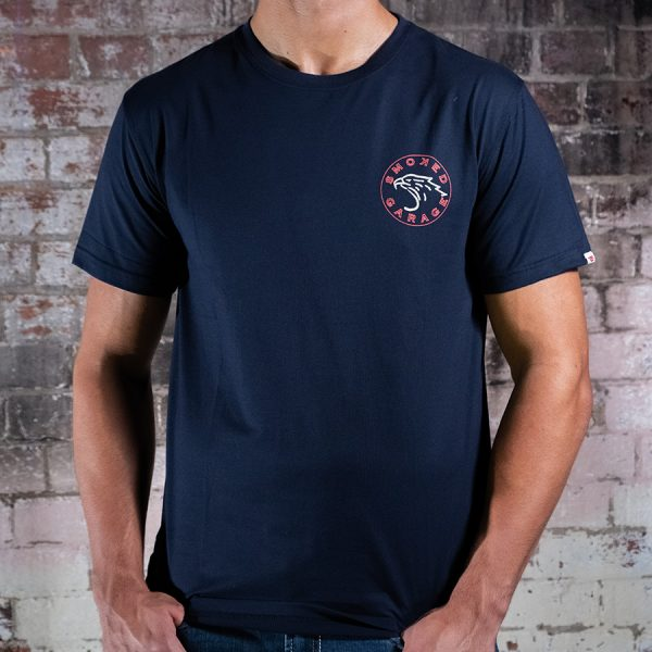 Smoked Eagle Tee Front Zoom