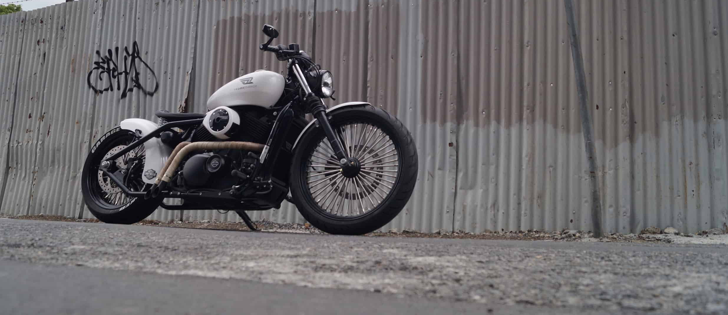 Smoked Garage Custom Motorcycle Story