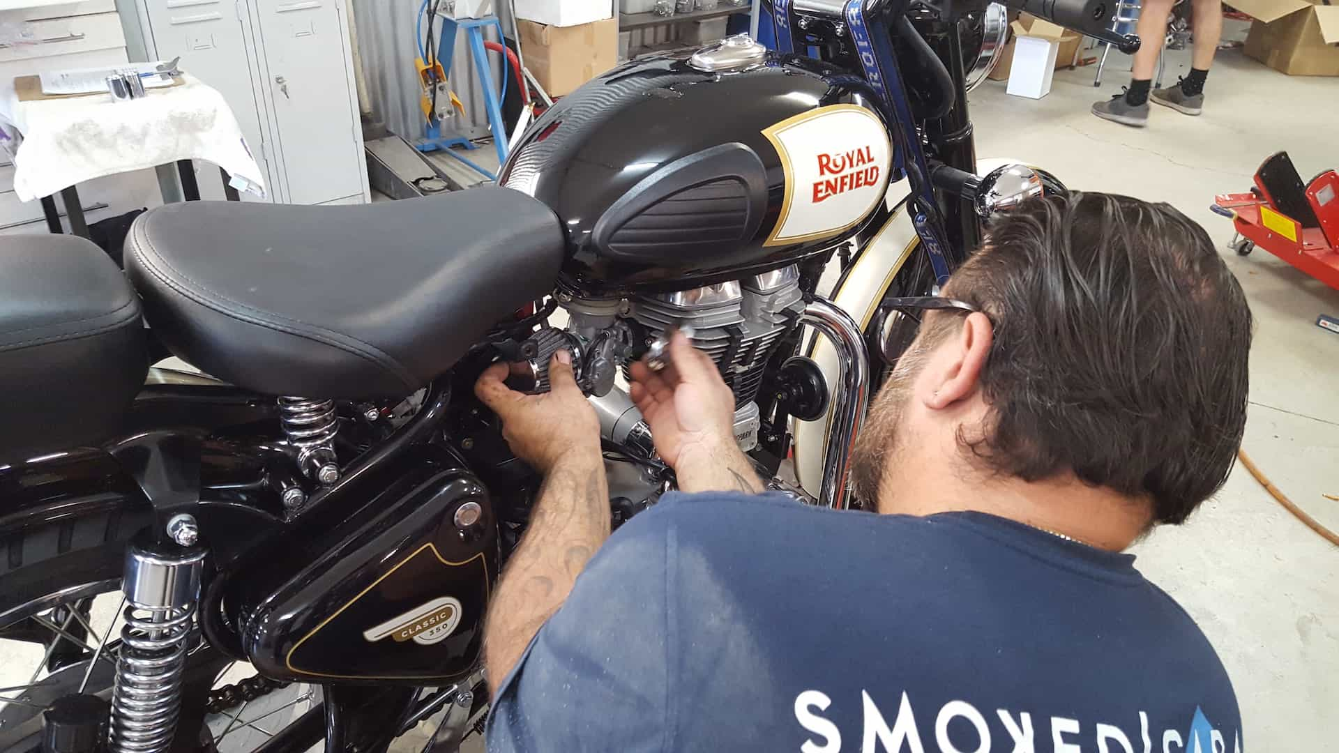 Smoked Garage High Quality Bike Services Brisbane