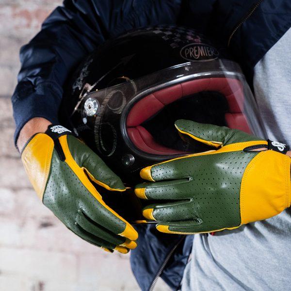 Smoked Garage Insitu Riding Gloves