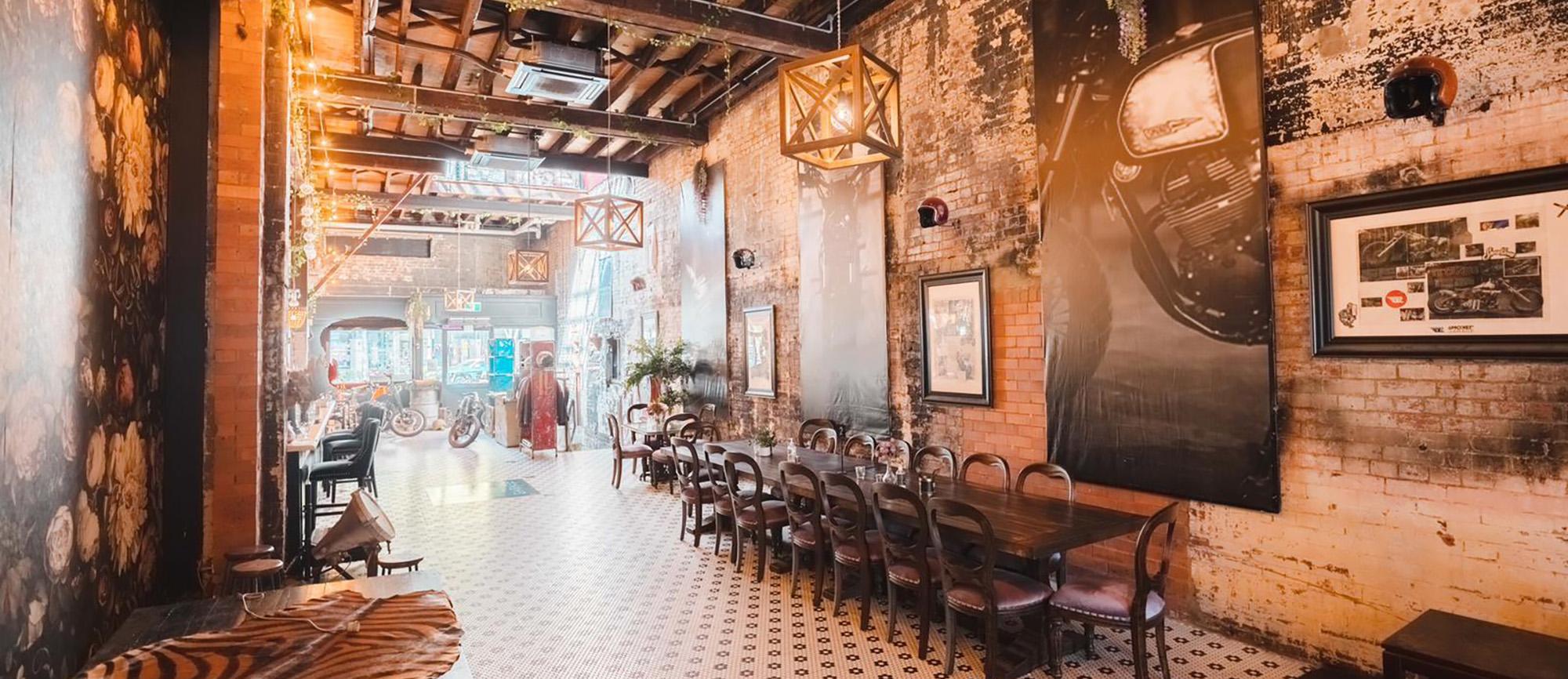 Smoked Garage Wedding Venue & Function Hire Brisbane
