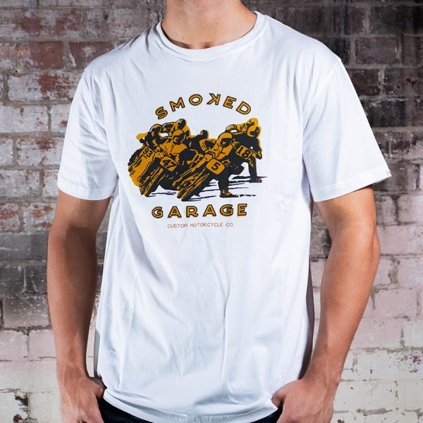 Smoked Racers Tee Front