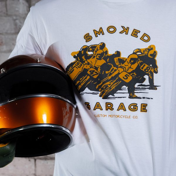 Smoked Racers Tee - Smoked Garage