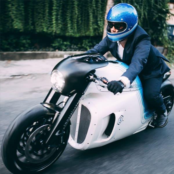 Ghost Triumph Custom Motorcycle