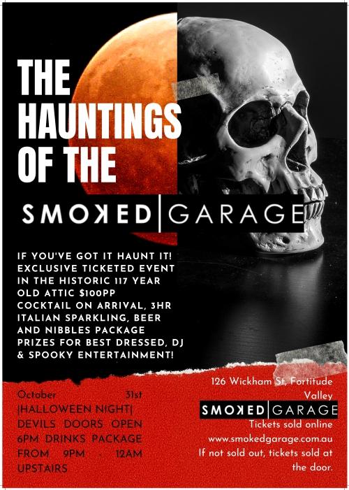 Smoked Garage THE HAUNTINGS OF