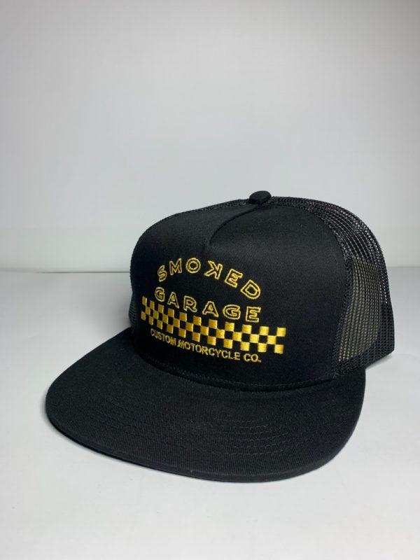 Smoked Garage Smoked Garage Yellow Check Hat