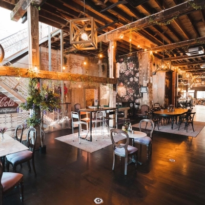 Rooftop Wedding Venue at Smoked Garage